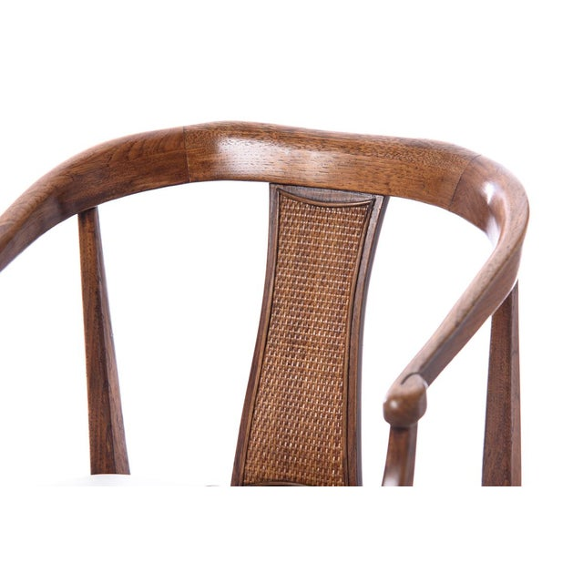 Vintage Mid-Century Wood Curved Back Chairs - A Pair - Image 3 of 4