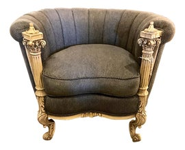 Image of Game Room Bergere Chairs