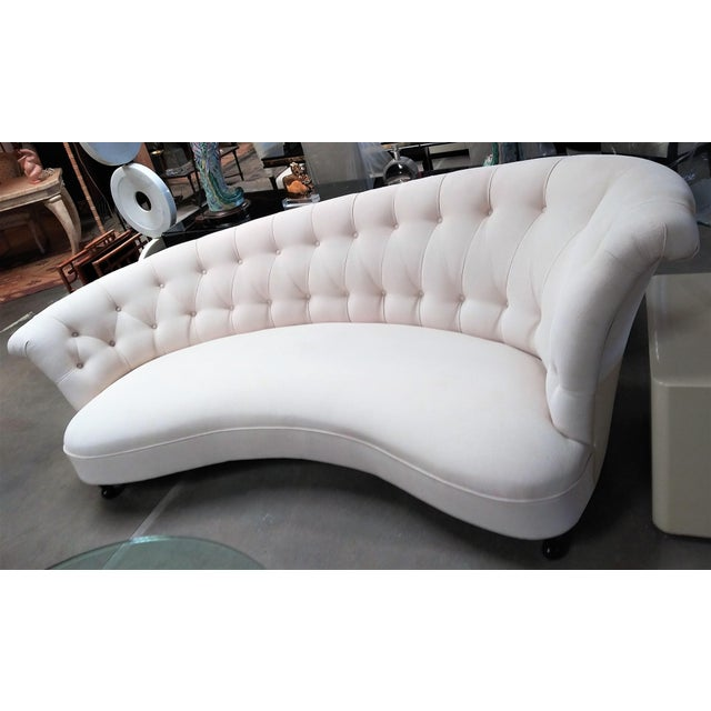 The Sommerlath Sofa is a fabulous design for any interior. With it's classic French mid-century design and tufted details,...