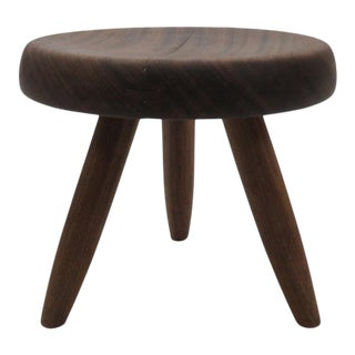 """1950s Vintage Charlotte Perriand """"Berger"""" Stool For Sale"""