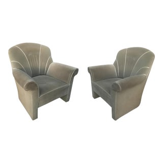 Josef Hoffman Haus Koller Club Chairs - A Pair