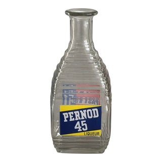 Pernod French Advertising Carafe For Sale