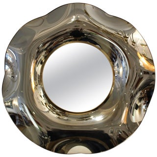 Wave Italian Mirror by Ghiró Studio For Sale