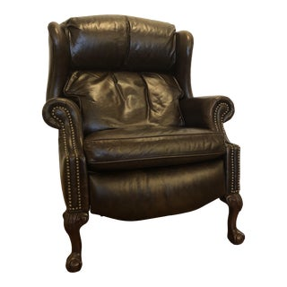 Bradington Young Presidential Reclining Wing Chair For Sale