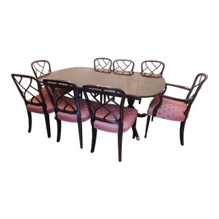 Kindel Hepplewhite Dining Room Set For Sale