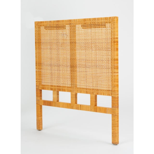 A single twin-sized headboard by Danny Ho Fong for his company, Tropi-Cal from the 1960s Parsons Group. This collection...