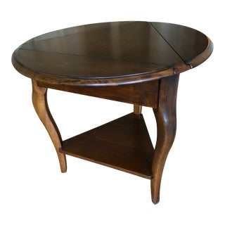 American Classical Convertible Side Table For Sale