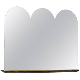 Phaedo Scalloped Propped Vanity Mirror For Sale