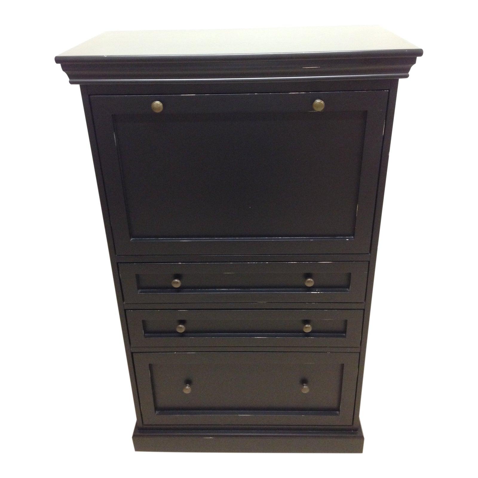 modern ballard design eastman secretary | chairish