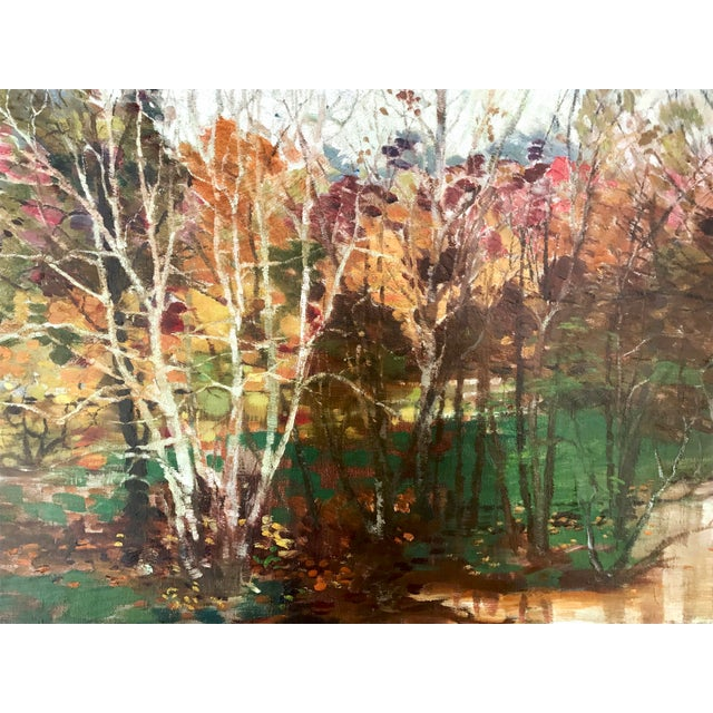 Fall Landscape Oil Painting by Everett Loyd Bryant - Image 3 of 6