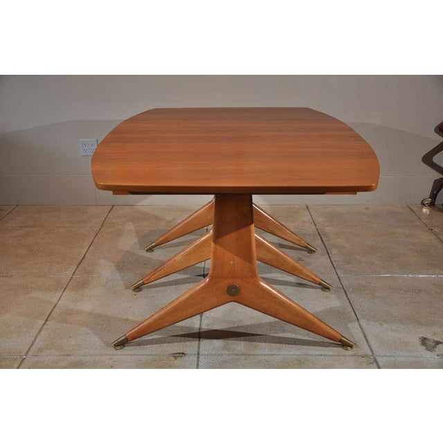 1950s 1950s Mid-Century Modern Drop Leaf Table For Sale - Image 5 of 9