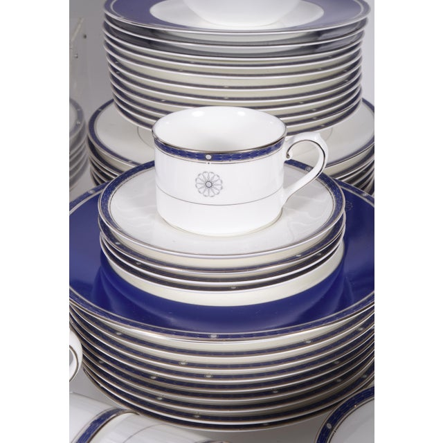 Wedgwood English Porcelain Dinnerware Service for Ten People - 83 Piece Set For Sale - Image 11 of 13