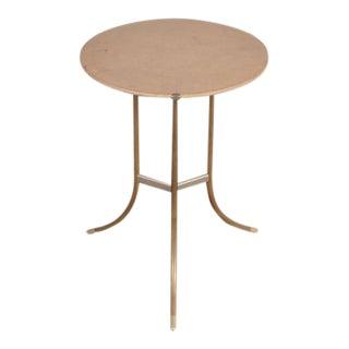 Round Side Table by Cedric Hartman, USA, circa 1970