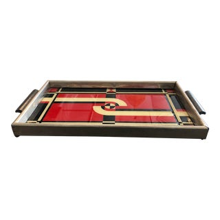 1930s Art Deco Jazz Serving Tray For Sale