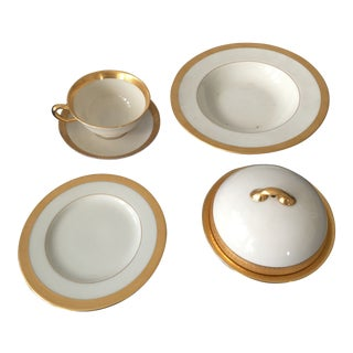 1920s Vintage Lowell by Lenox China Tea Set-Set Of 5 For Sale