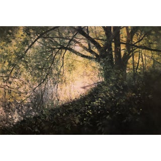 "Thomas McNickle ""Under the Low Boughs"" Contemporary Traditional Landscape Oil Painting For Sale"
