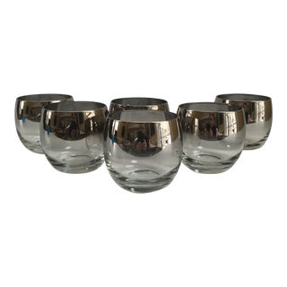Mid-Century Dorothy Thorpe Cocktail Glasses - Set of 6 For Sale