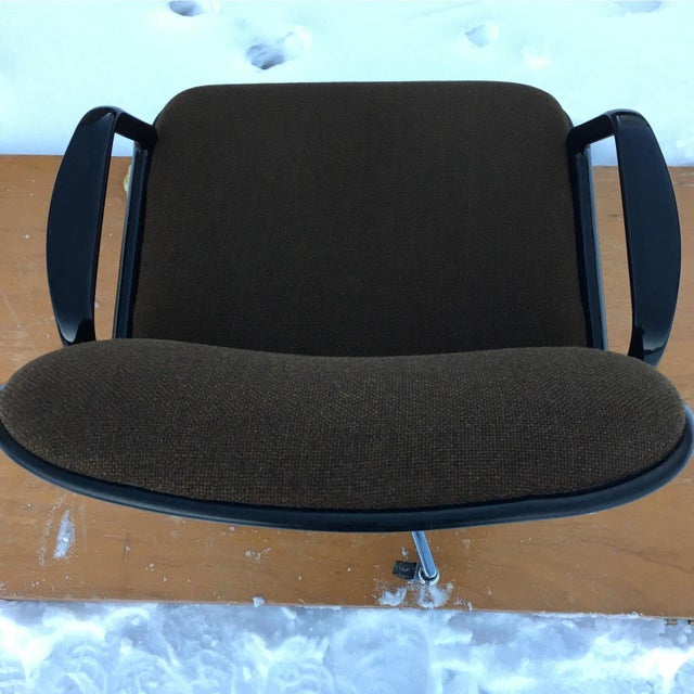 Mid-Century Modern Charles Pollock Style Desk Chair by All•Steel For Sale - Image 9 of 13