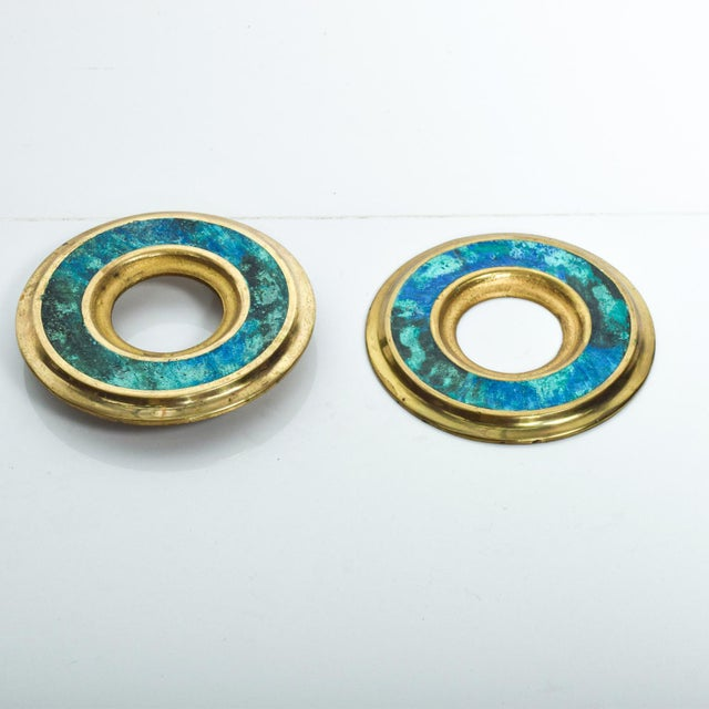 Mid Century Modern Door Ring Pulls by Pepe Mendoza Mexican Modernist For Sale In San Diego - Image 6 of 9
