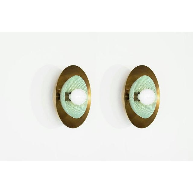 """Modern """"Centric"""" Wall Sconces - a Pair For Sale - Image 3 of 12"""