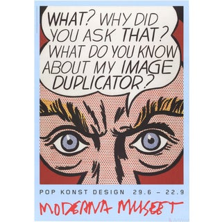 Roy Lichtenstein, Image Duplicator, 2013 Poster For Sale