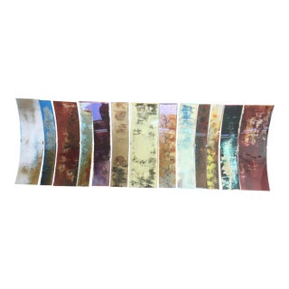 Solor Spectrum Wall Art - Set of 13 For Sale