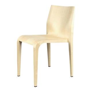 Modern Riccardo Blumer Alias 'Laleggera 301' Natural Maple Stacking Chair For Sale