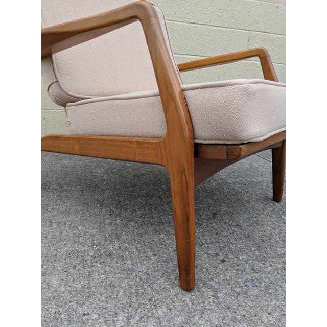Mid-Century Ib Kofod-Larsen Danish Lounge Chair For Sale - Image 9 of 13