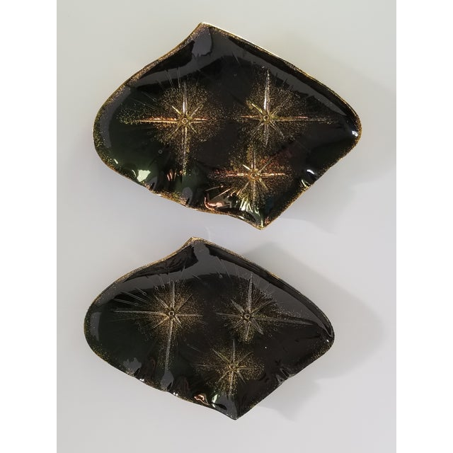 Abstract Mid-Century Modern California Pottery Serving Platters - a Pair For Sale - Image 3 of 11