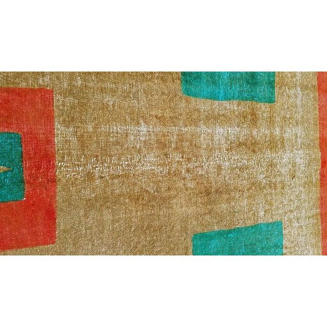 "Boho Chic Vintage Persian Tabriz Rug - 9'0"" X 12'10"" For Sale - Image 3 of 5"