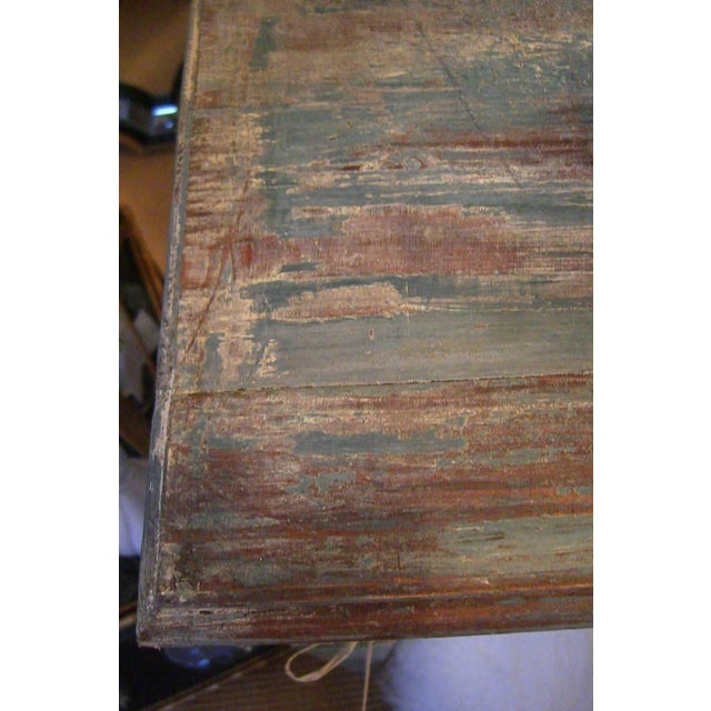 Mid 20th Century Italian Tall Painted Wood Console or Serving Table For Sale - Image 5 of 6