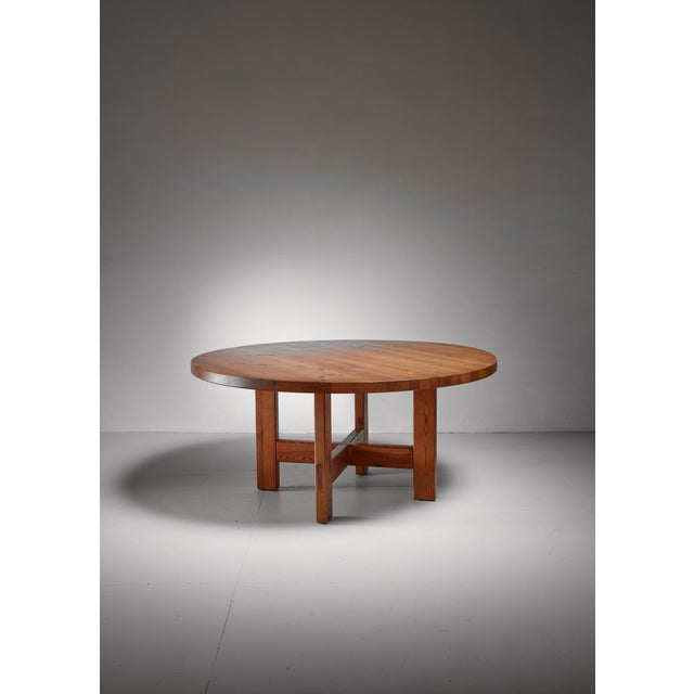 1960s Roland Wilhelmsson Pine Table, Sweden, 1960s For Sale - Image 5 of 5
