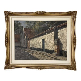 Framed Oil Painting on Canvas by Jules De Corte (1918-1999) For Sale