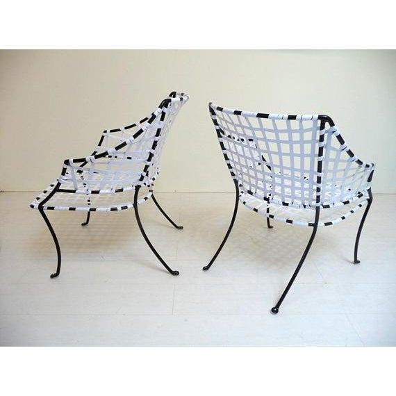 Vintage Brown Jordan Patio Lounge Chairs - A Pair For Sale - Image 5 of 7
