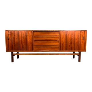 "Vintage Mid Century Scandinavian Modern Rosewood ""Arild"" Credenza by Nils Jonsson for Troeds of Sweden For Sale"
