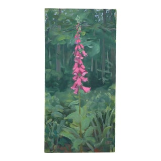 """""""Foxglove at the Edge of the Woods"""" Original Painting"""
