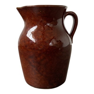 Vintage Robinson Ransbottom Pottery Pitcher For Sale