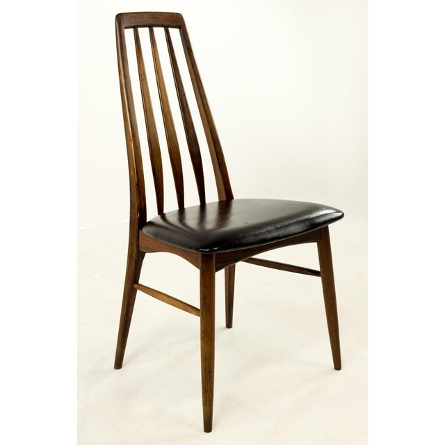Mid 20th Century Mid-Century Modern Niels Koefoed Hornslet Rosewood Eva Dining Chairs - Set of 6 For Sale - Image 5 of 12