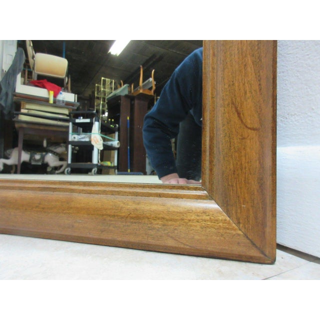 1776 Ethan Allen Dresser Hanging Wall Mirror For Sale In Philadelphia - Image 6 of 10