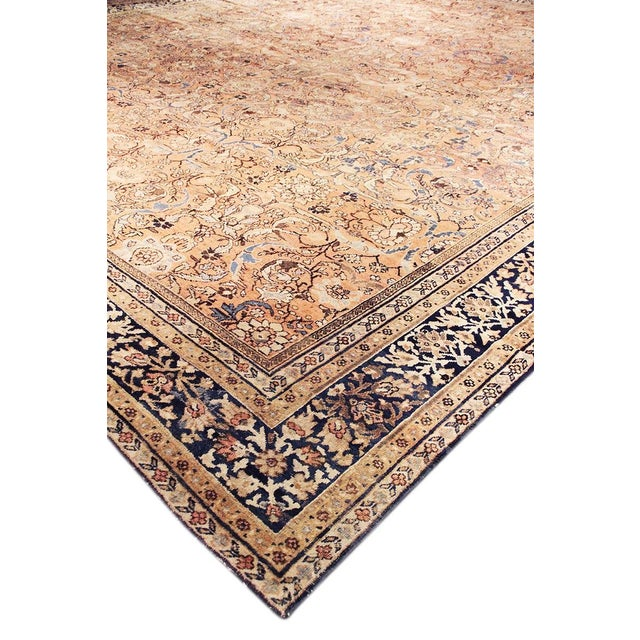 "Antique Persian Mahal Rug- 12'10"" X 17' 0"" - Image 2 of 5"