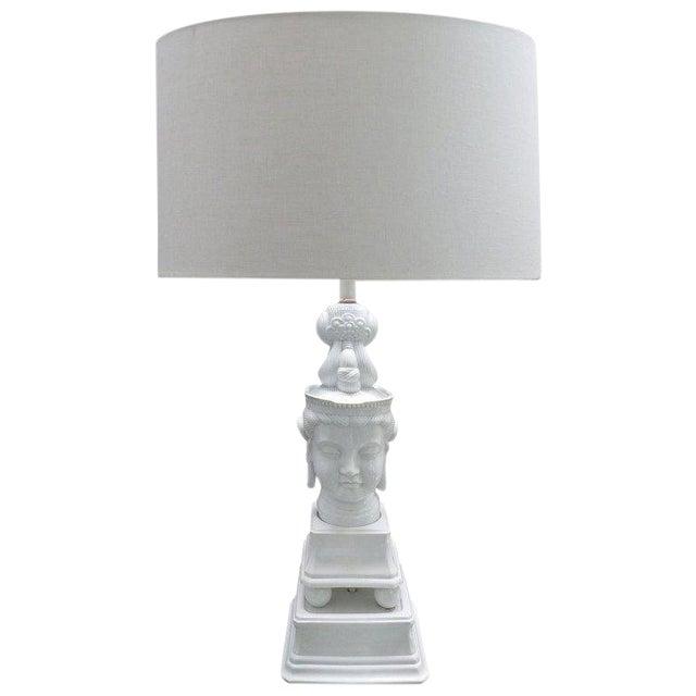 1960s Lamp Vintage Buddha Blanc De Chine Table 0mwNOvny8P