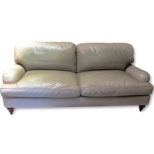 A. Rudin Leather Sofa - Image 1 of 10