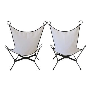 Butterfly Patio Chairs- A Pair For Sale