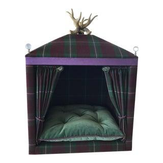 """The Salzburg"" Bespoke Luxury Dog Bed For Sale"