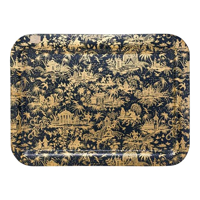 Piero Fornasetti Large Piccolo Coromandel Tray, 1950s. - Image 1 of 4