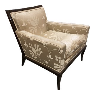 Early 21st Century Vintage Nancy Corzine Upholstered Lounge Chair For Sale