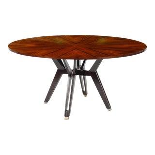 Rosewood Table Designed by Ico Parisi For Sale