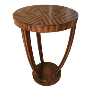 Art Deco Tulip Style Side Table For Sale