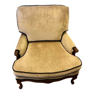 1960s Vintage Newly Reupholstered Accent Chair For Sale