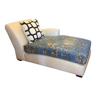 Christian Liaigre for Holly Hunt Nabob Chaise Lounge For Sale